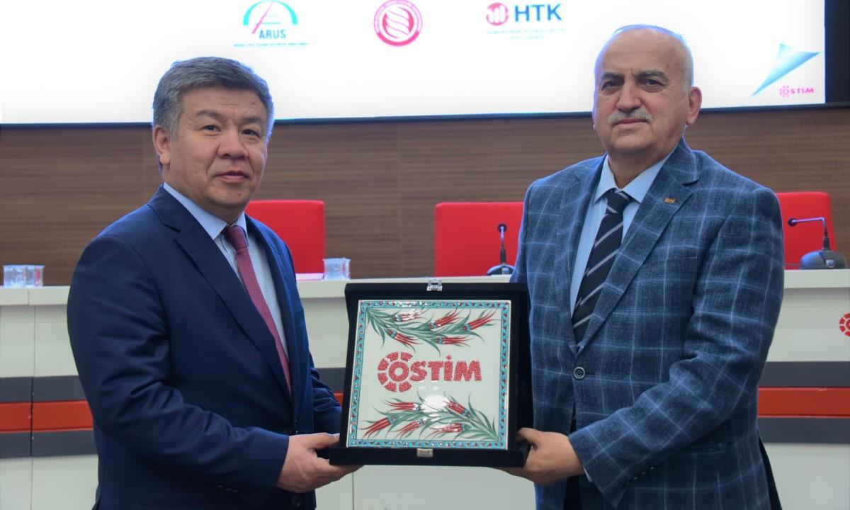 OSTİM Modeli Kırgızistan Parlamentosuna Sunulacak