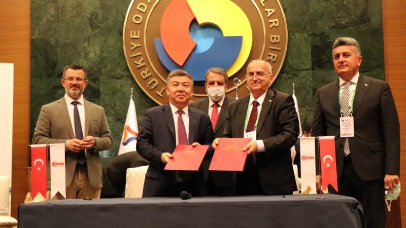 OSTİM'e Kırgızistan Yolu Açıldı