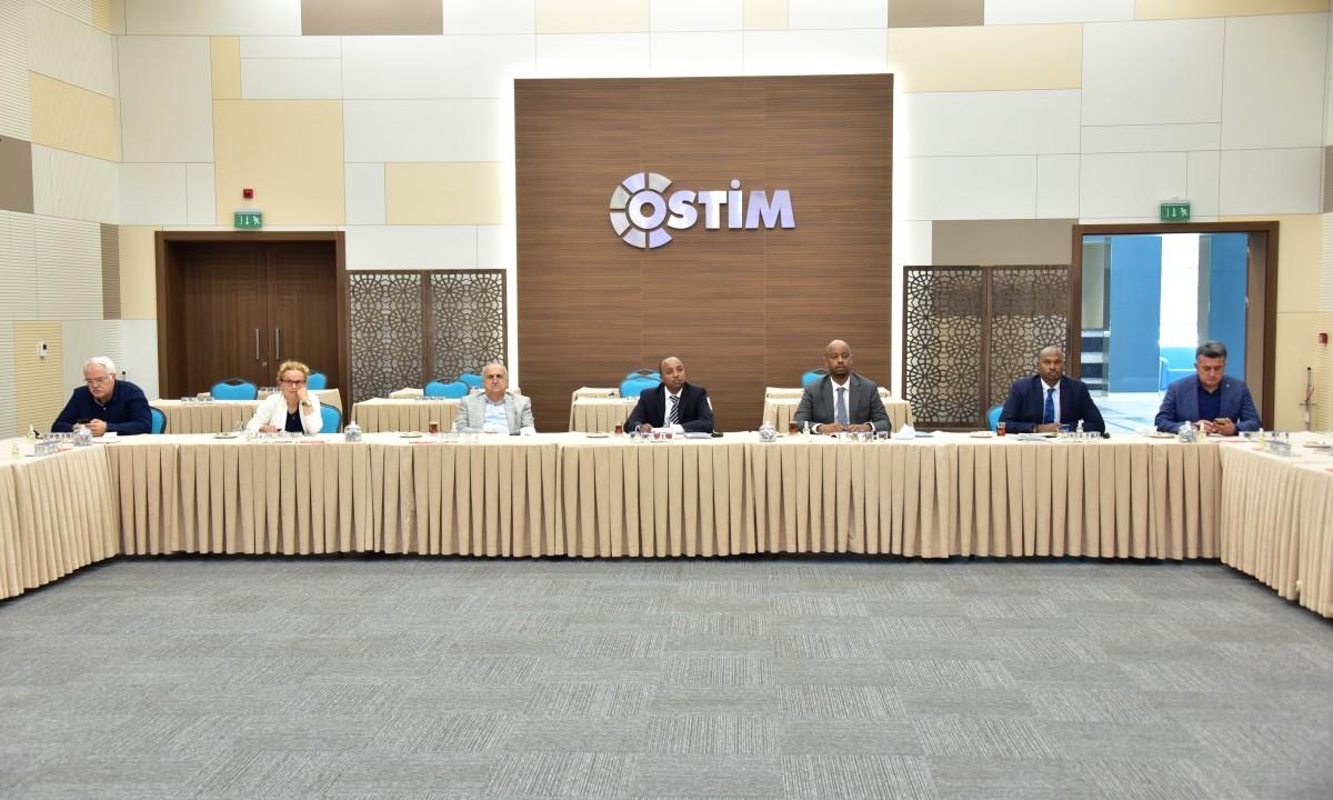Ruanda Büyükelçisi OSTİM Modeli Hakkına Bilgi Aldı